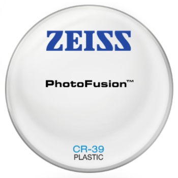 Zeiss Zeiss® PhotoFusion® - Plastic CR-39 Plano Lenses